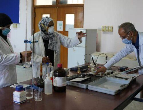 مختبرات الكلية التقنية الهندسية/البصرة تجري فحوصات لمحطة مياه الغدير في ام قصر