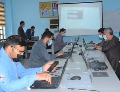 الكلية التقنية الهندسية تقيم ورشة عمل عن إدارة مختبرات الحاسبة والمحاكاة الكترونياً