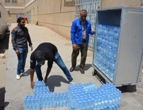 BETC launches its humanitarian campaign to provide drinking water to the Children's Hospital in Basra.