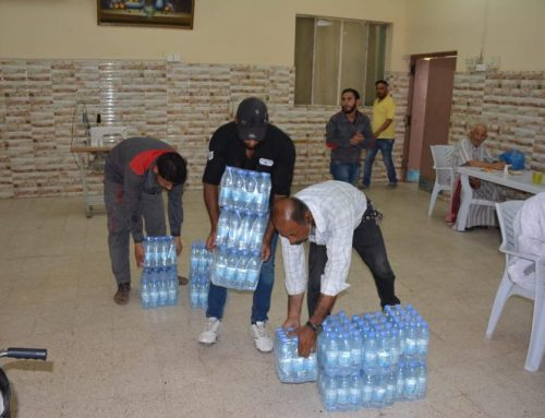 BETC continues its humanitarian campaign to provide drinking water to residential care homes