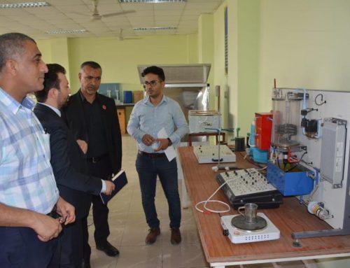 وفد المجمع الصناعي الأكاديمي الإيراني يزور الكلية التقنية الهندسية في البصرة